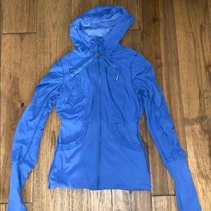 Blue Reversible Lululemon Zip-up Jacket